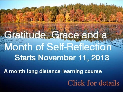 Gratitude, Grace and a Month of Self-Reflection (Naikan)