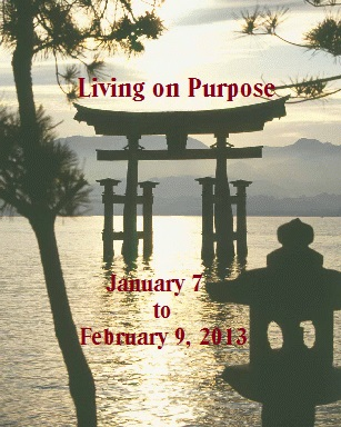 Living On Purpose 1/7 – 2/9/14