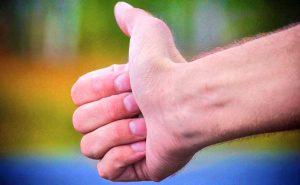 hitchhike hand