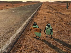 hitchhiking penguins2