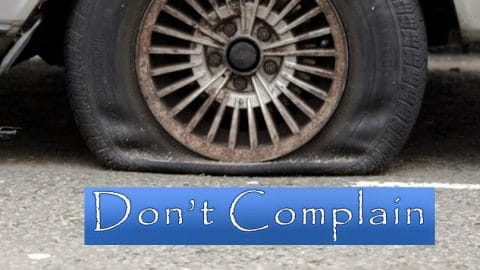 Just Describe — Don't Complain