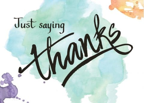 Saying Thanks is not the Same Thing as Expressing Gratitude